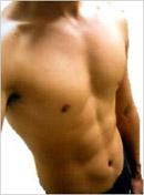 腹割ダイエットプログラム、田中貴紀砂、割れた腹筋